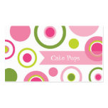 Cake Pops Bakery Double-Sided Standard Business Cards (Pack Of 100)