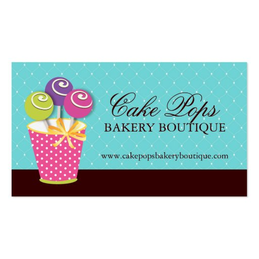 cake pop bakery bakery business card templates page6 bizcardstudio 2277