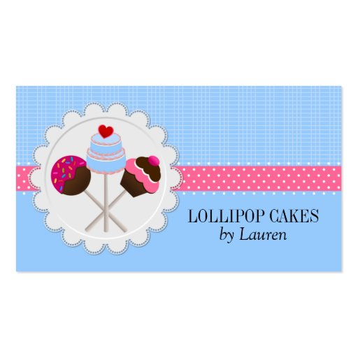 cake pop bakery bakery business card templates page101 bizcardstudio 2277