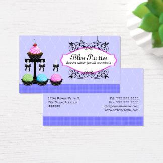 Cake Pops Dessert Tables Business Card