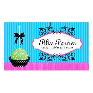 Cake Pops Desserts Business Cards
