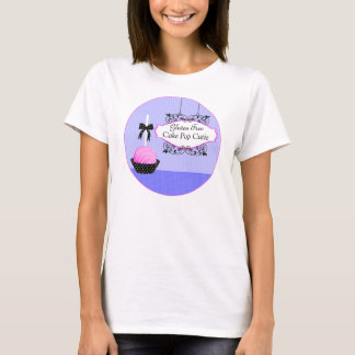 Cake Pops Desserts Custom Business T-Shirt