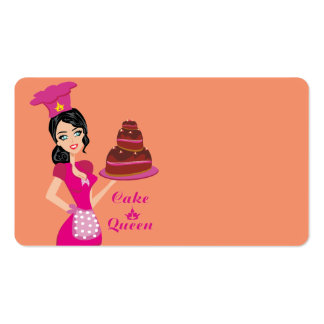 Cake Queen Business Card