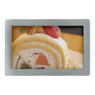 Cake Rectangular Belt Buckle
