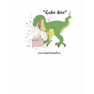 Cake Rex! shirt