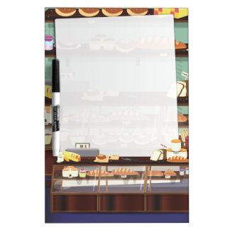 cake shop counter Dry-Erase board