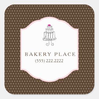 Cake Shop Stickers