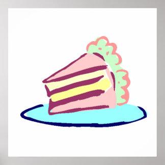 Cake Slice Poster