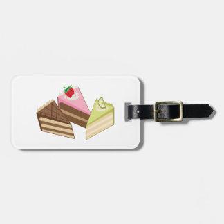 Cake Slices Bag Tags