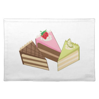 Cake Slices Cloth Place Mat