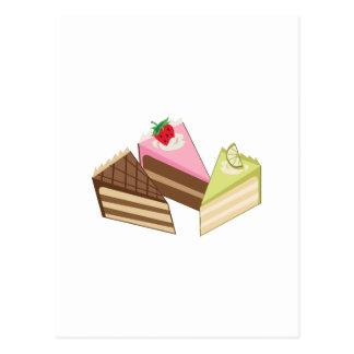 Cake Slices Postcard