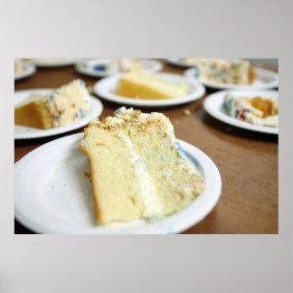 Cake Slices Poster