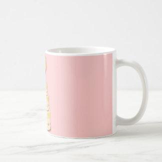Cake template coffee mug