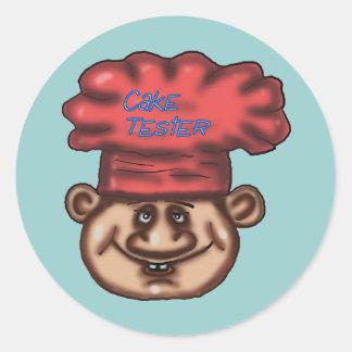 cake tester baker Sticker