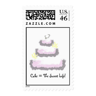 Cake = The Sweet Life! Stamps