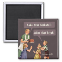 Cake time magnet