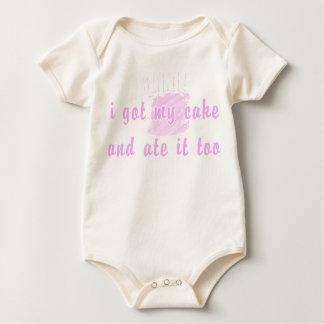 cake-too baby bodysuit