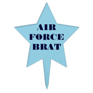 Cake Topper Air Force Brat