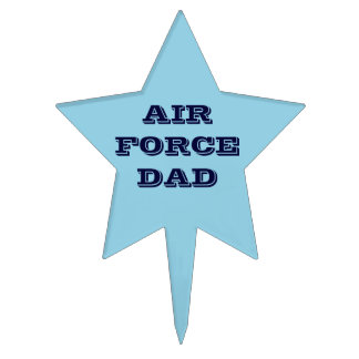 Cake Topper Air Force Dad