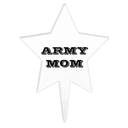 Cake Topper Army Mom
