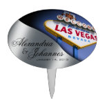 CAKE TOPPER Las Vegas Sign