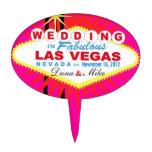 CAKE TOPPER Las Vegas Wedding Sign