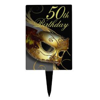 CAKE TOPPER Masquerade Party Venetian Mask