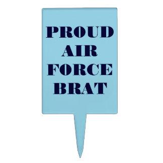 Cake Topper Proud Air Force Brat