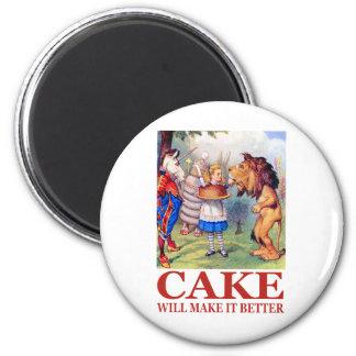 CAKE WILL MAKE IT BETTER MAGNET
