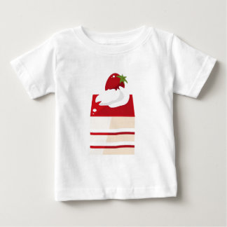 Cake with strawberry baby T-Shirt