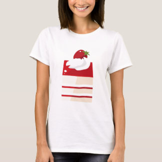 Cake with strawberry T-Shirt
