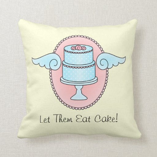 Cake with Wings Pillow