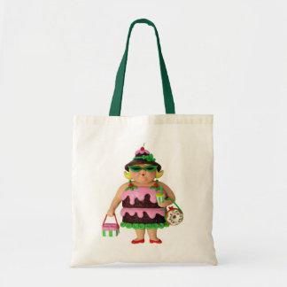 Cake Woman Tote Bag