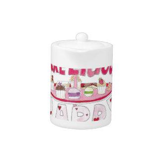 Cakelicious Happy Birthday Teapot