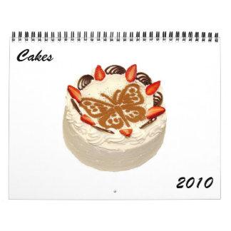 Cakes 2010 Calendar