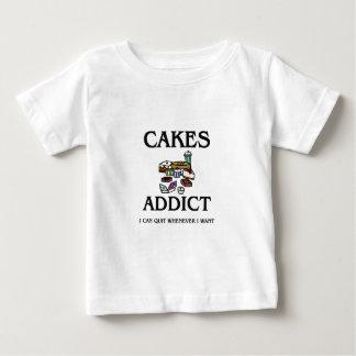 Cakes Addict T-shirts