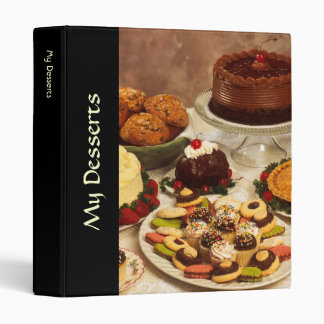 Cakes and sweets binder