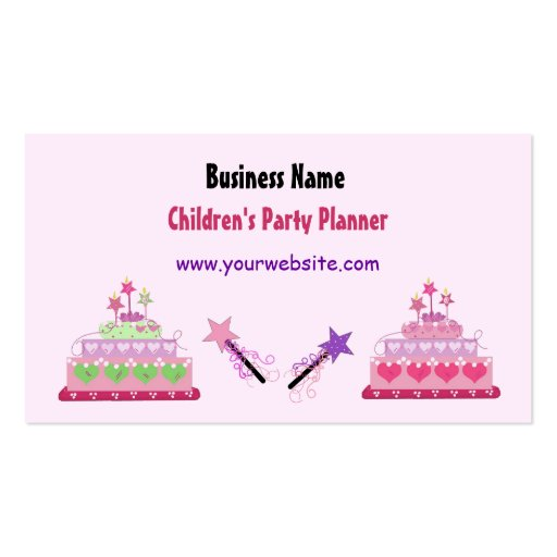 children s party planning business