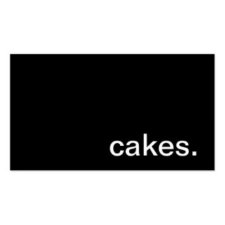 Cakes Business Card