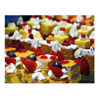 cakes cream delicious-confectionery- postcard