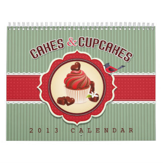 Cakes & Cupcakes Calendar