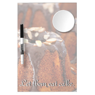 Cakes Dry Erase Board With Mirror