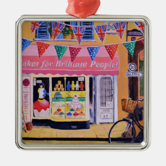 Cakes For Brilliant People Metal Ornament