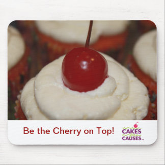 Cakes for Causes Cherry Mouse Pad