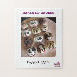 Cakes for Causes Puppy Cuppies Puzzle