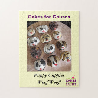 Cakes for Causes Puppy Puzzle