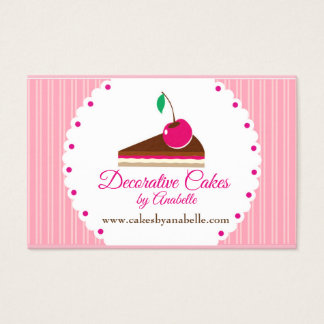 Cakes. Handmade cakes, 3 D cakes Business Card