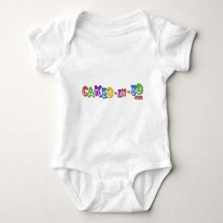 Cakes in 3D logo 3 Baby Bodysuit