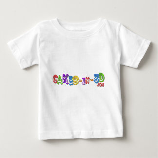 Cakes in 3D logo 3 Baby T-Shirt