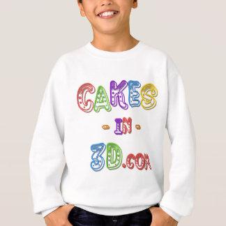 Cakes in 3D logo Sweatshirt